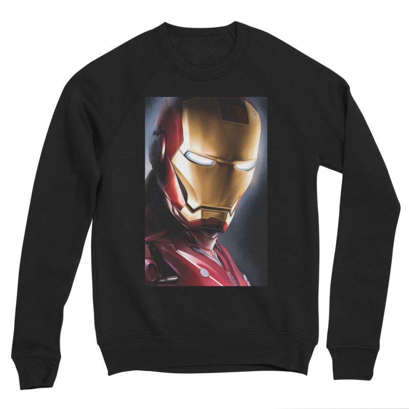 Iron Man Men's Sponge Fleece Sweatshirt by Evolution Comics INC