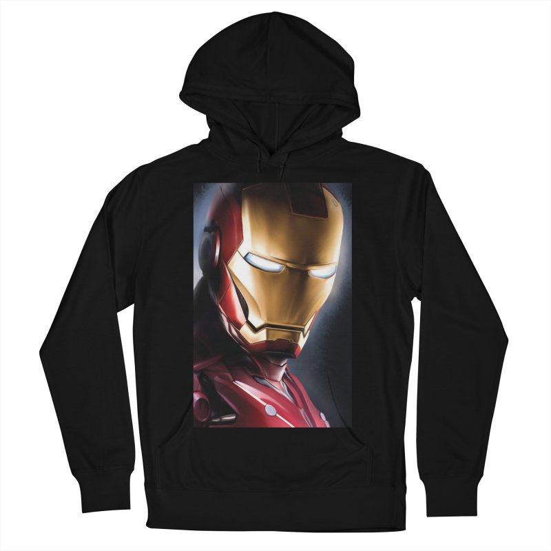 Iron Man Men's French Terry Pullover Hoody by Evolution Comics INC