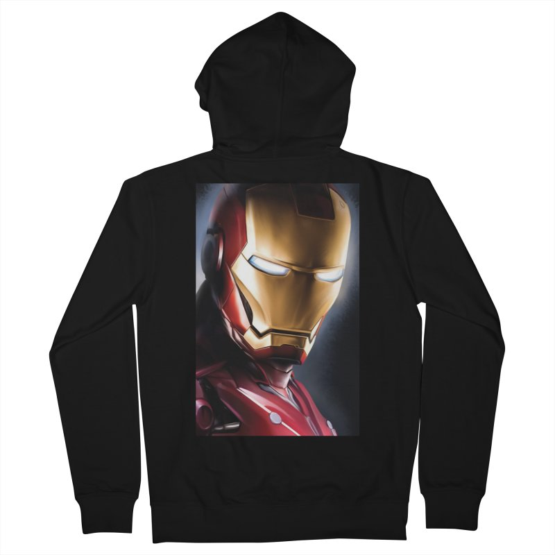 Iron Man Women's French Terry Zip-Up Hoody by Evolution Comics INC