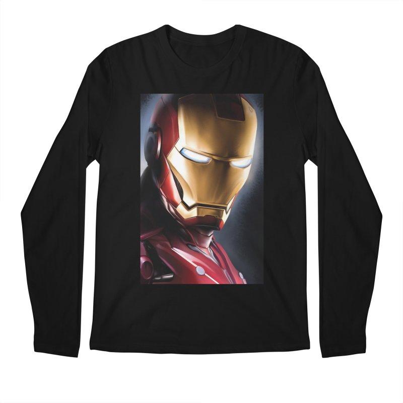 Iron Man Men's Regular Longsleeve T-Shirt by Evolution Comics INC