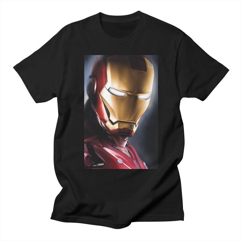 Iron Man Women's Regular Unisex T-Shirt by Evolution Comics INC