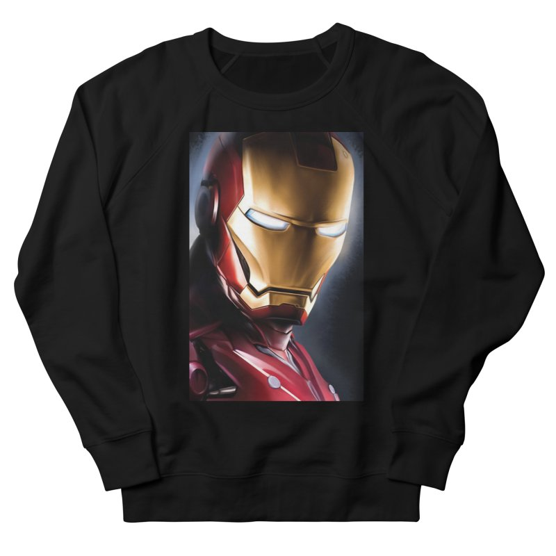 Iron Man Women's French Terry Sweatshirt by Evolution Comics INC