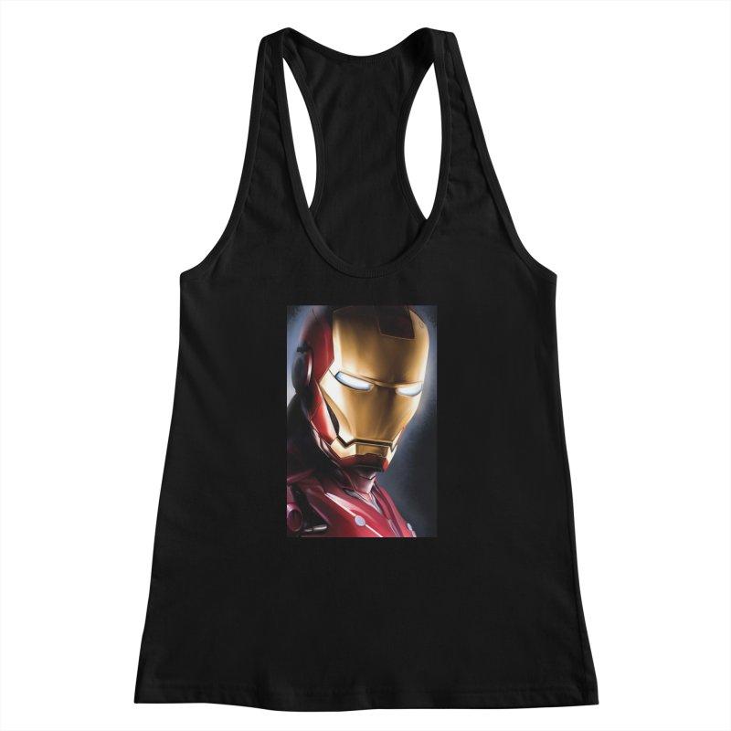 Iron Man Women's Racerback Tank by Evolution Comics INC