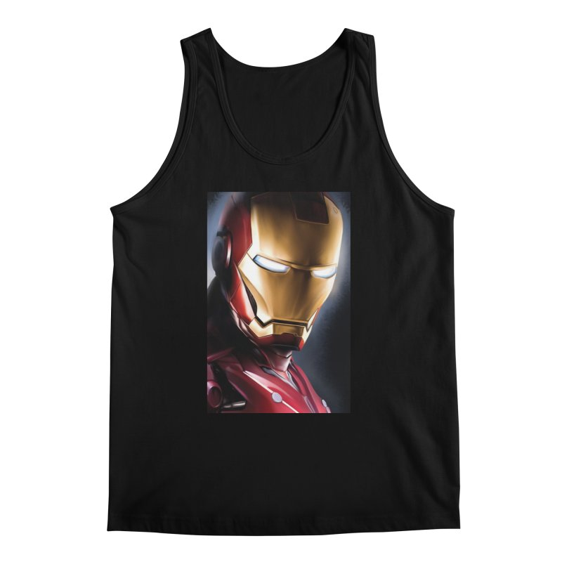 Iron Man Men's Regular Tank by Evolution Comics INC