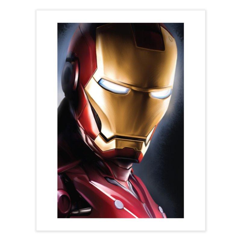 Iron Man Home Fine Art Print by Evolution Comics INC