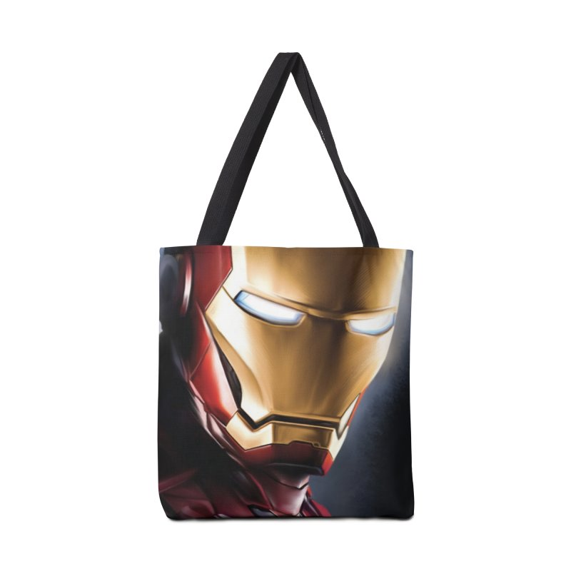 Iron Man Accessories Tote Bag Bag by Evolution Comics INC