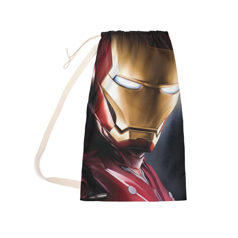 Iron Man Accessories Laundry Bag Bag by Evolution Comics INC