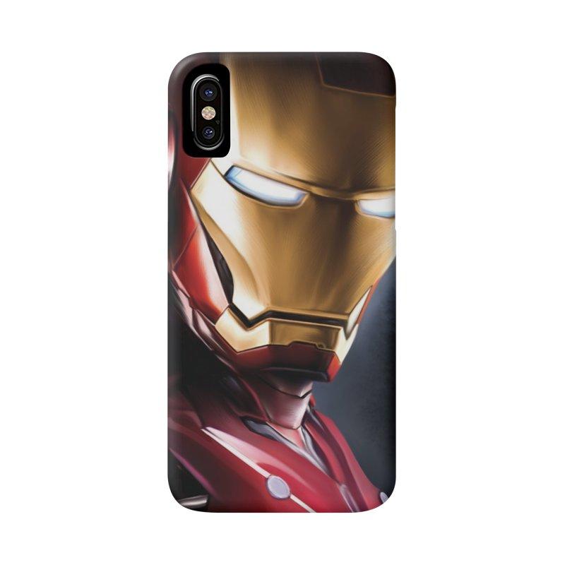 Iron Man Accessories Phone Case by Evolution Comics INC