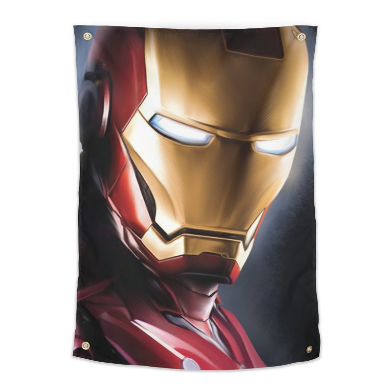 Iron Man Home Tapestry by Evolution Comics INC
