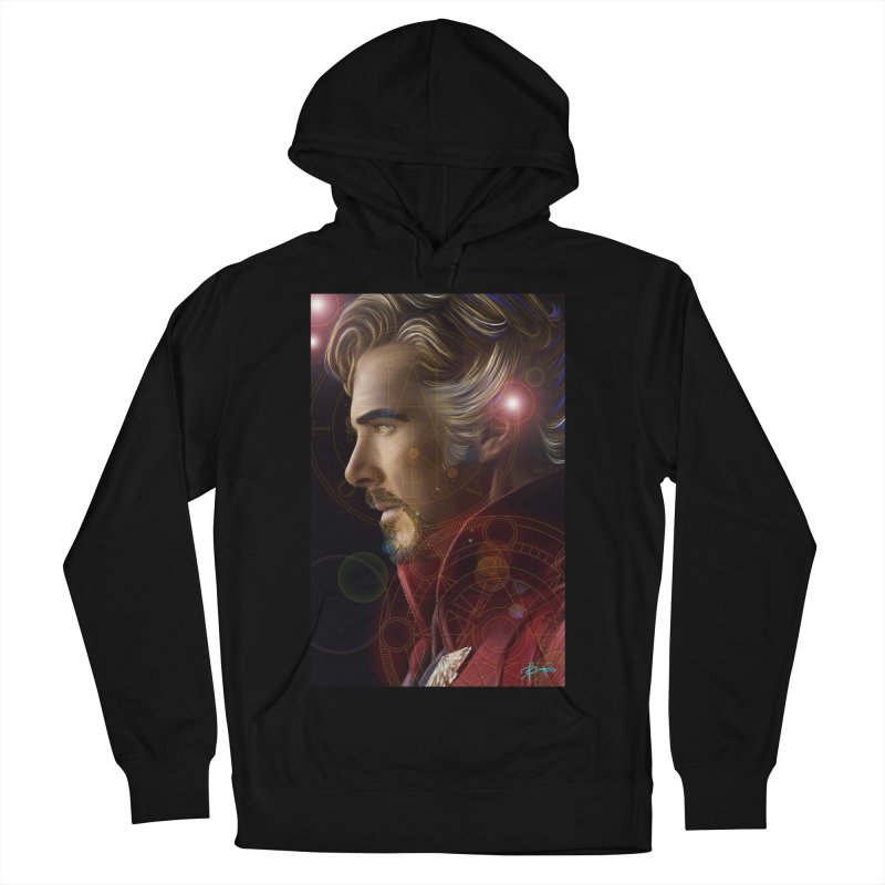 Dr Strange Men's French Terry Pullover Hoody by Evolution Comics INC