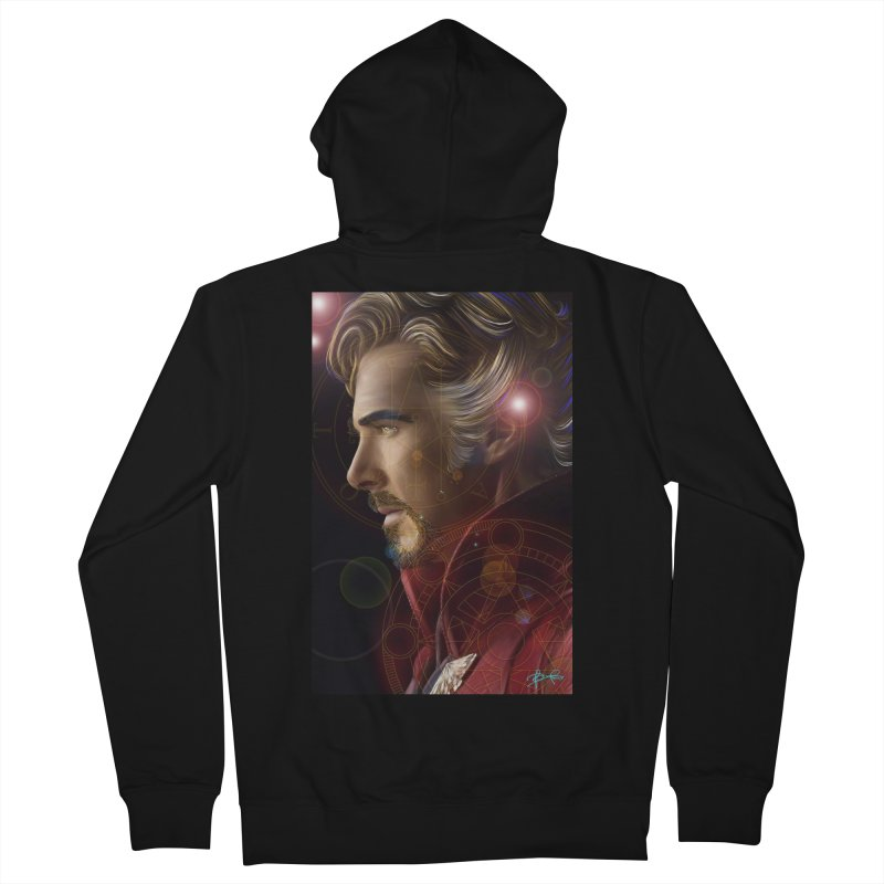Dr Strange Women's French Terry Zip-Up Hoody by Evolution Comics INC