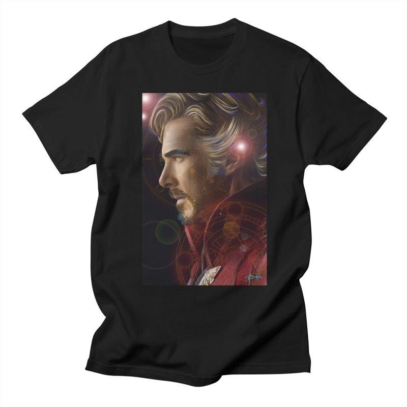 Dr Strange Women's Regular Unisex T-Shirt by Evolution Comics INC