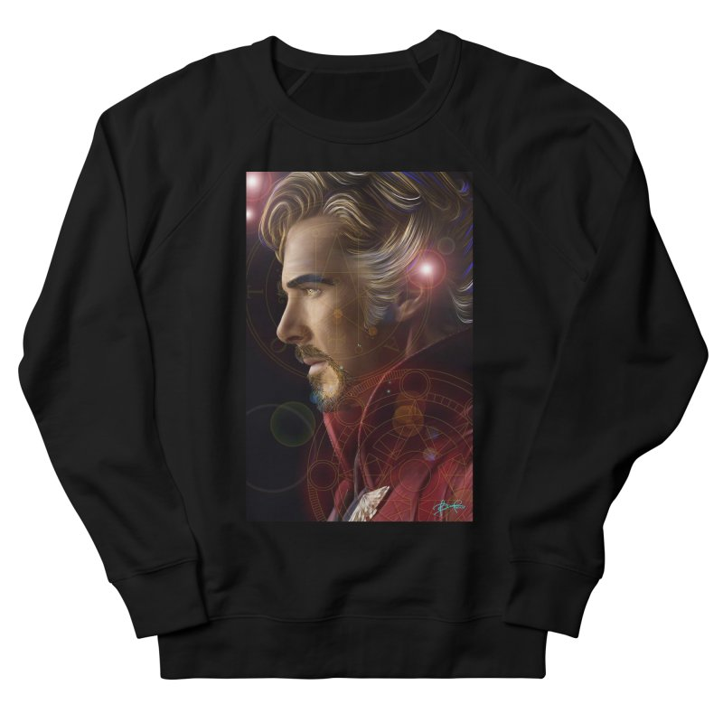 Dr Strange Men's French Terry Sweatshirt by Evolution Comics INC