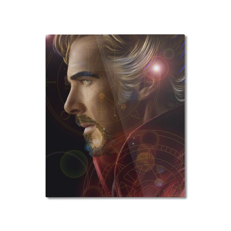 Dr Strange Home Mounted Aluminum Print by Evolution Comics INC