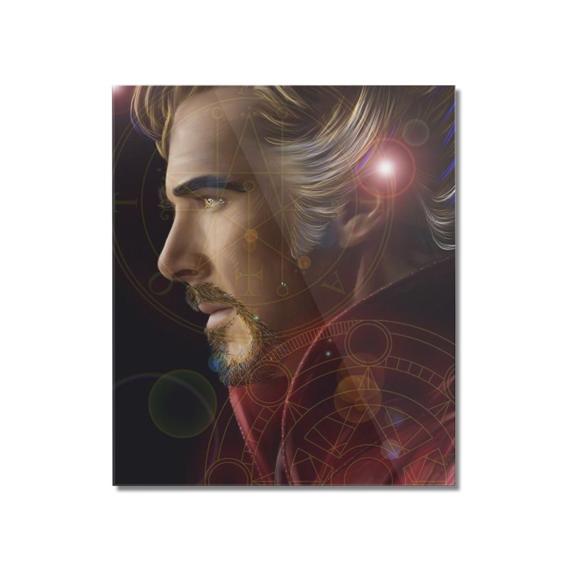 Dr Strange Home Mounted Acrylic Print by Evolution Comics INC