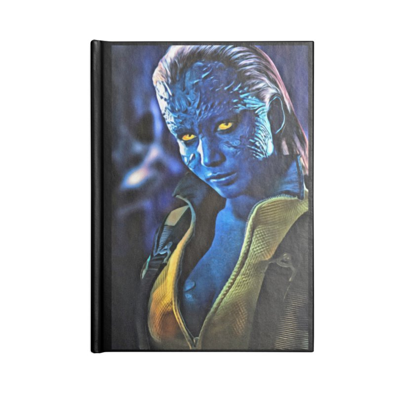 Mystique Accessories Lined Journal Notebook by Evolution Comics INC