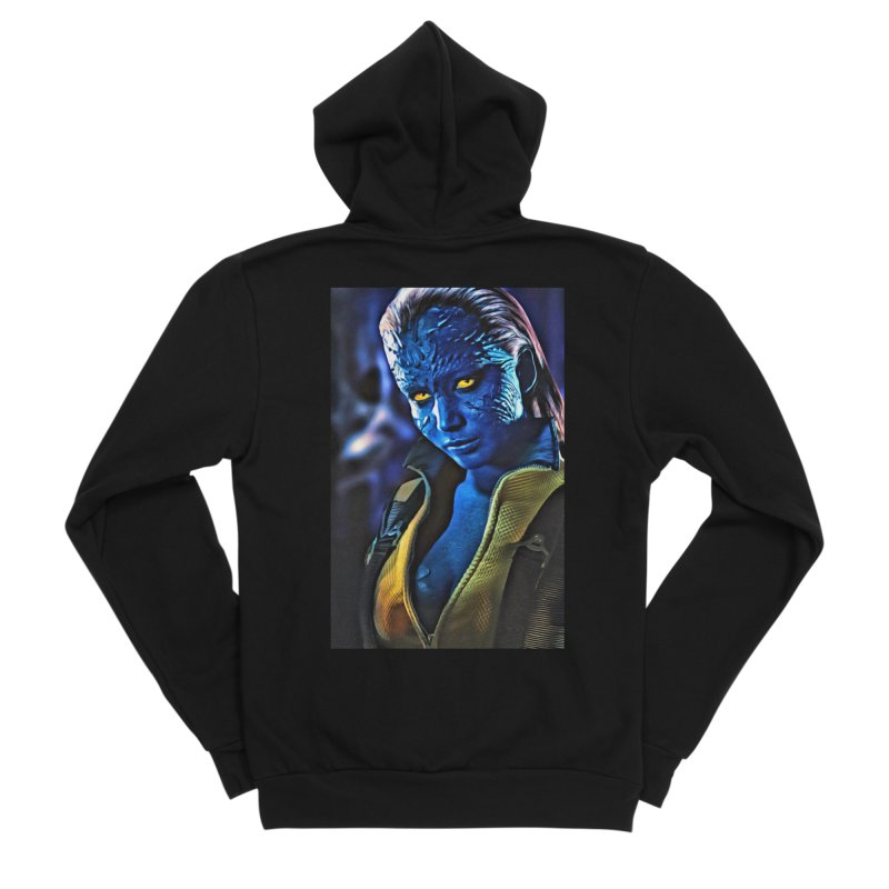 Mystique Men's Sponge Fleece Zip-Up Hoody by Evolution Comics INC