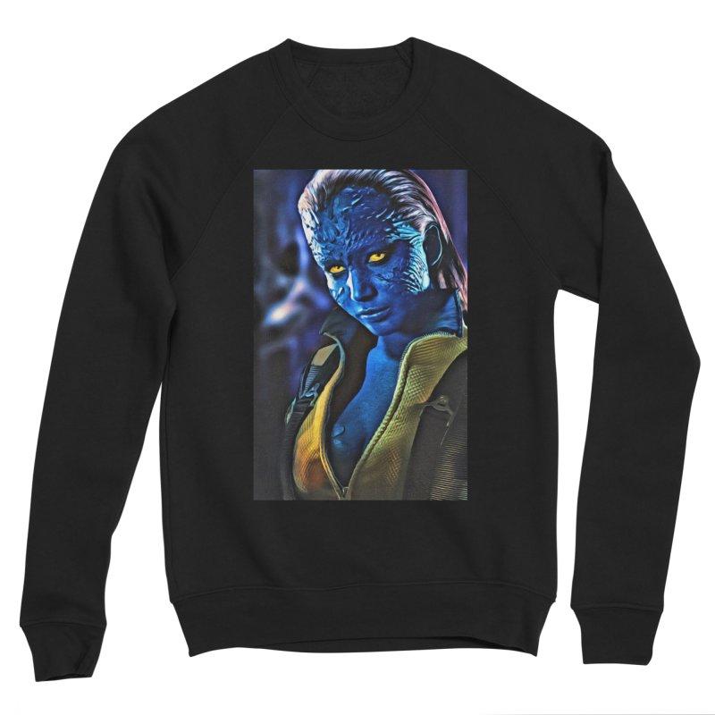 Mystique Men's Sponge Fleece Sweatshirt by Evolution Comics INC