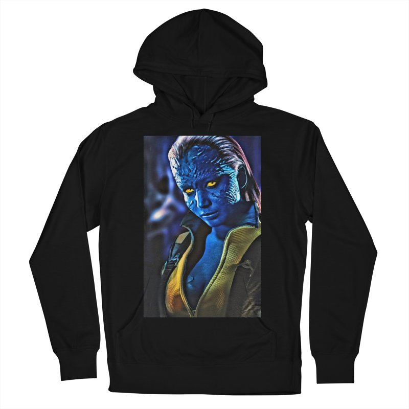 Mystique Women's French Terry Pullover Hoody by Evolution Comics INC