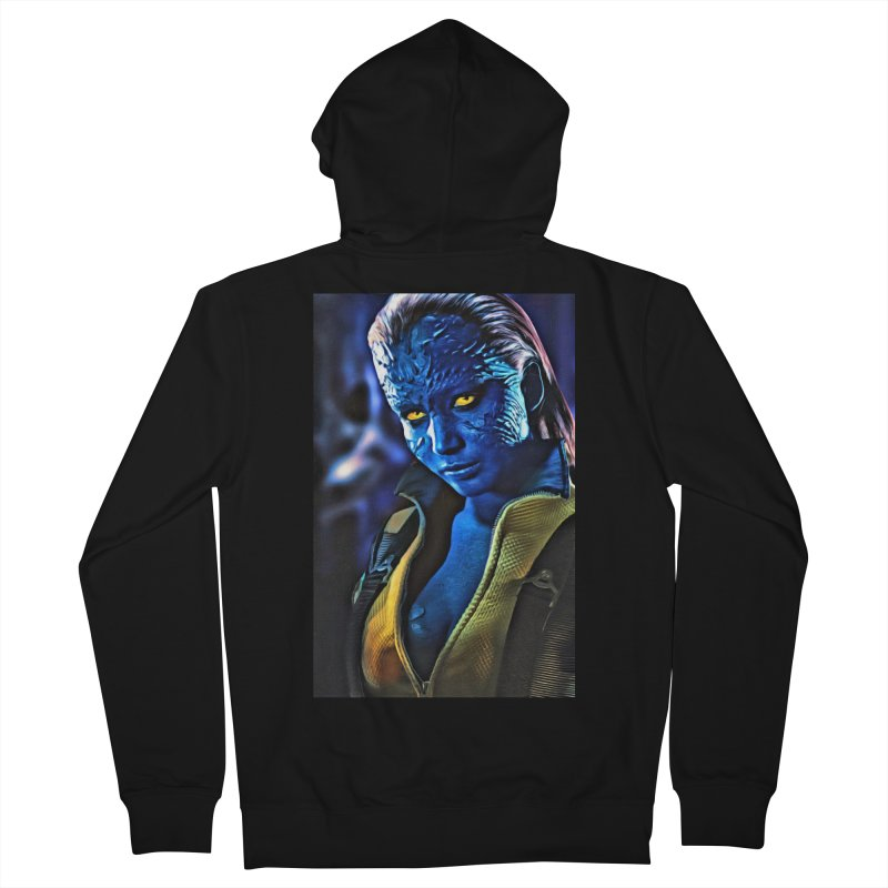 Mystique Women's French Terry Zip-Up Hoody by Evolution Comics INC