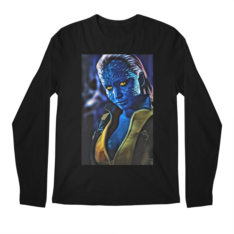 Mystique Men's Regular Longsleeve T-Shirt by Evolution Comics INC