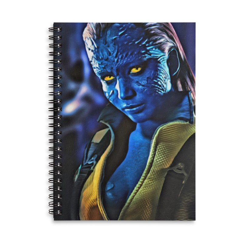 Mystique Accessories Lined Spiral Notebook by Evolution Comics INC