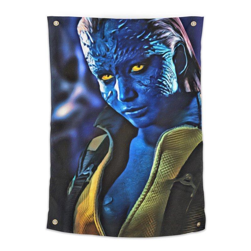 Mystique Home Tapestry by Evolution Comics INC