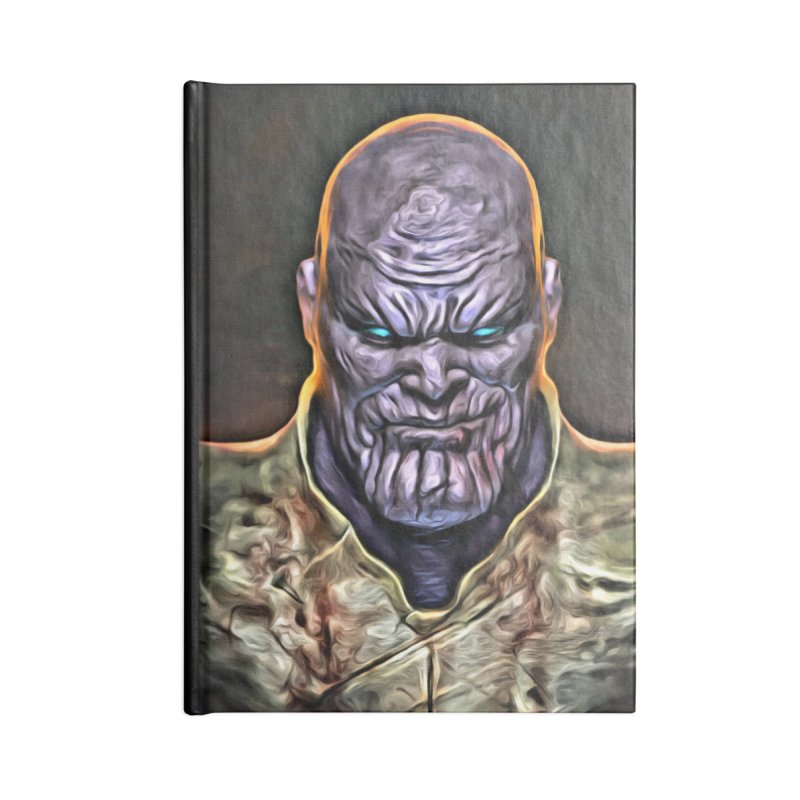 Thanos Accessories Lined Journal Notebook by Evolution Comics INC