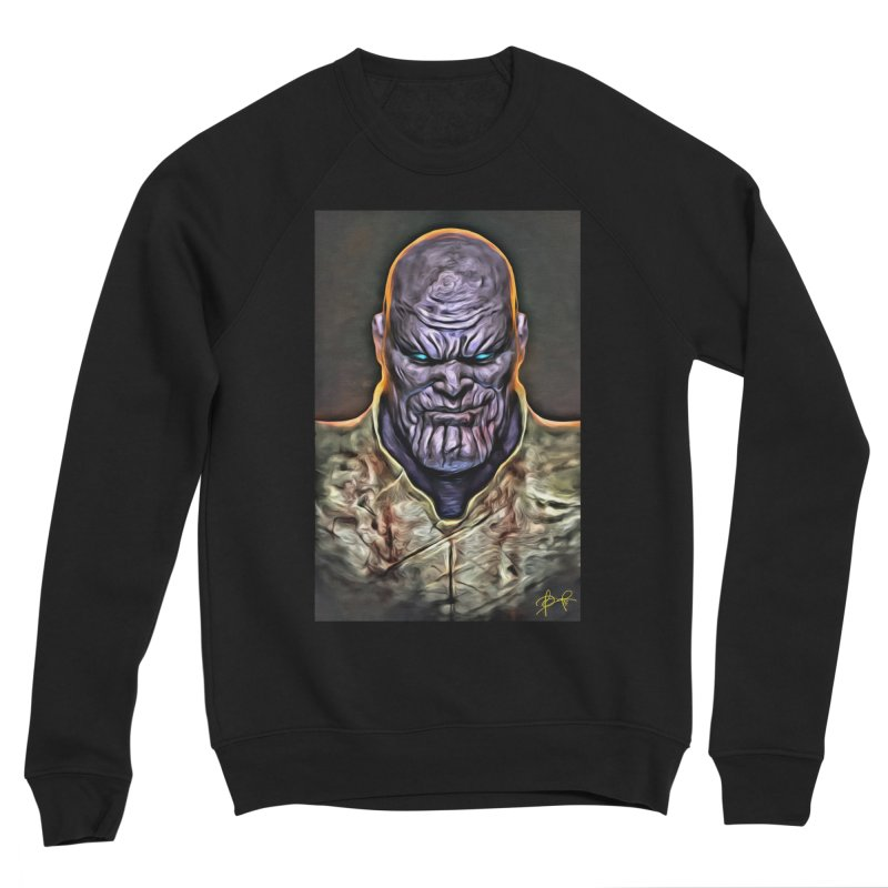 Thanos Men's Sponge Fleece Sweatshirt by Evolution Comics INC