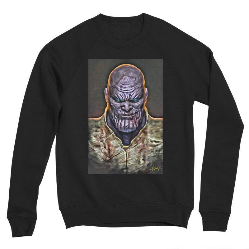 Thanos Women's Sponge Fleece Sweatshirt by Evolution Comics INC
