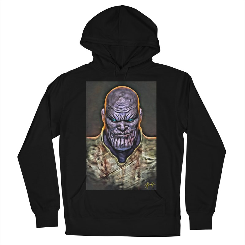 Thanos Men's French Terry Pullover Hoody by Evolution Comics INC