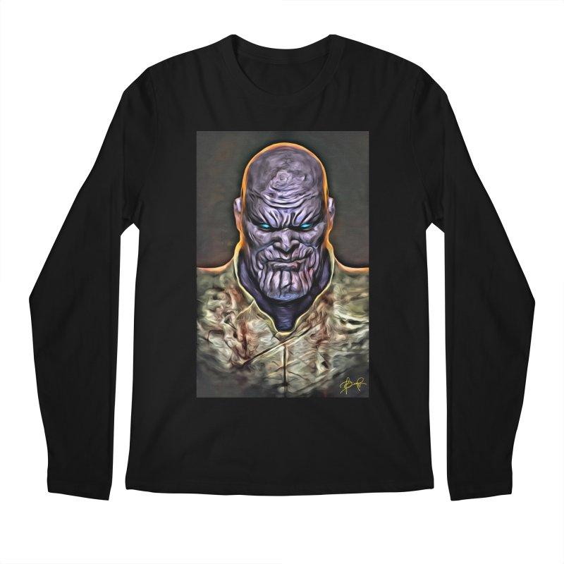 Thanos Men's Regular Longsleeve T-Shirt by Evolution Comics INC