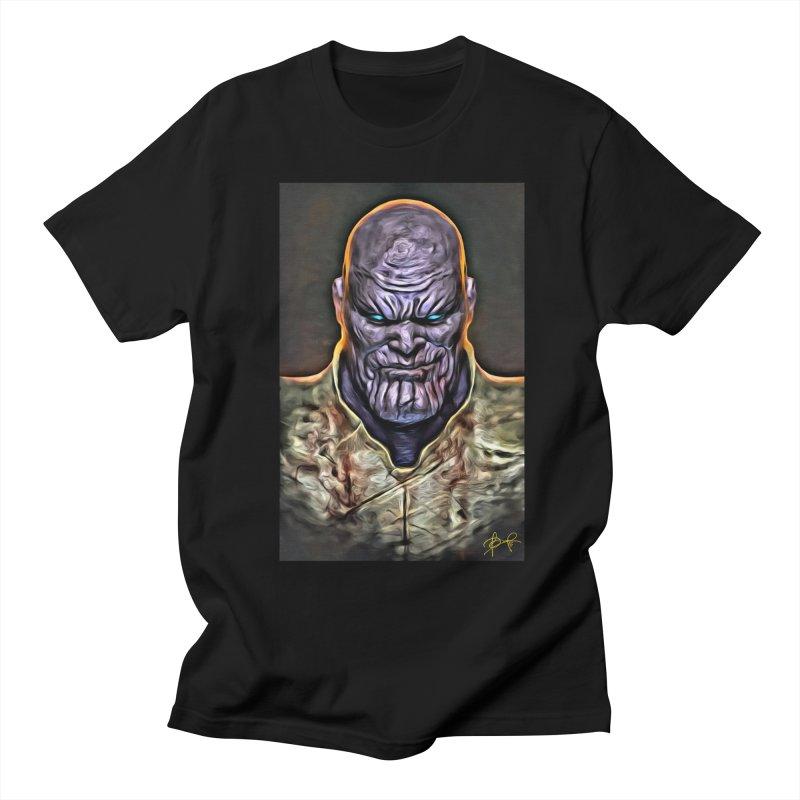 Thanos Women's Regular Unisex T-Shirt by Evolution Comics INC