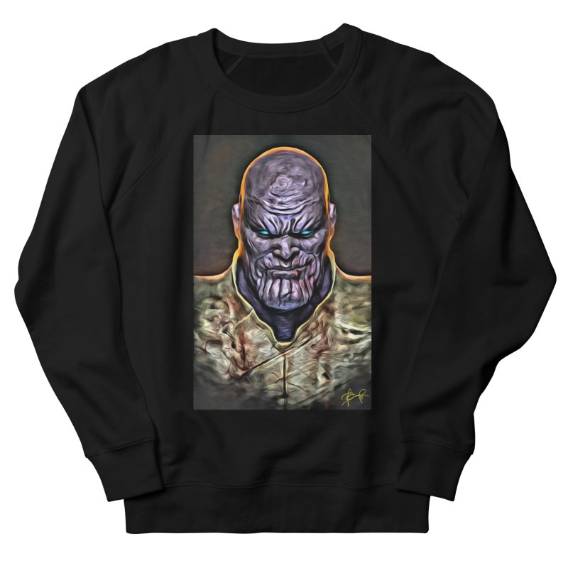 Thanos Men's French Terry Sweatshirt by Evolution Comics INC