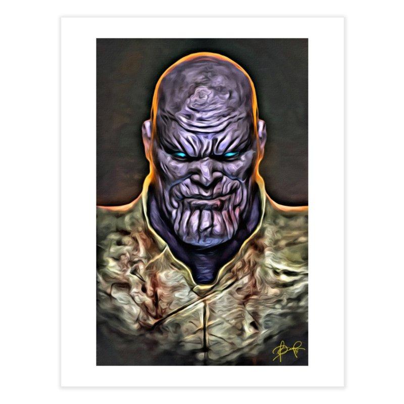 Thanos Home Fine Art Print by Evolution Comics INC
