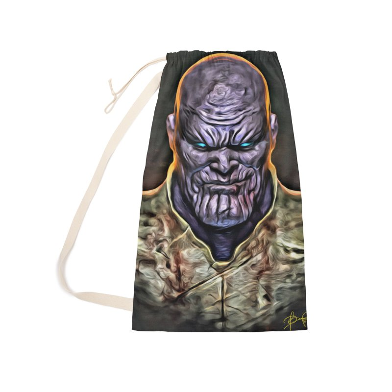 Thanos Accessories Laundry Bag Bag by Evolution Comics INC