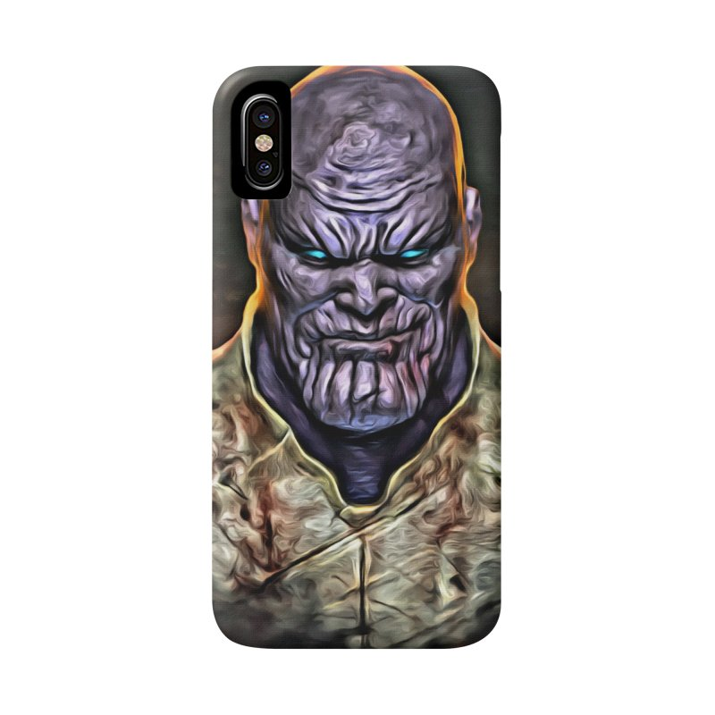 Thanos Accessories Phone Case by Evolution Comics INC