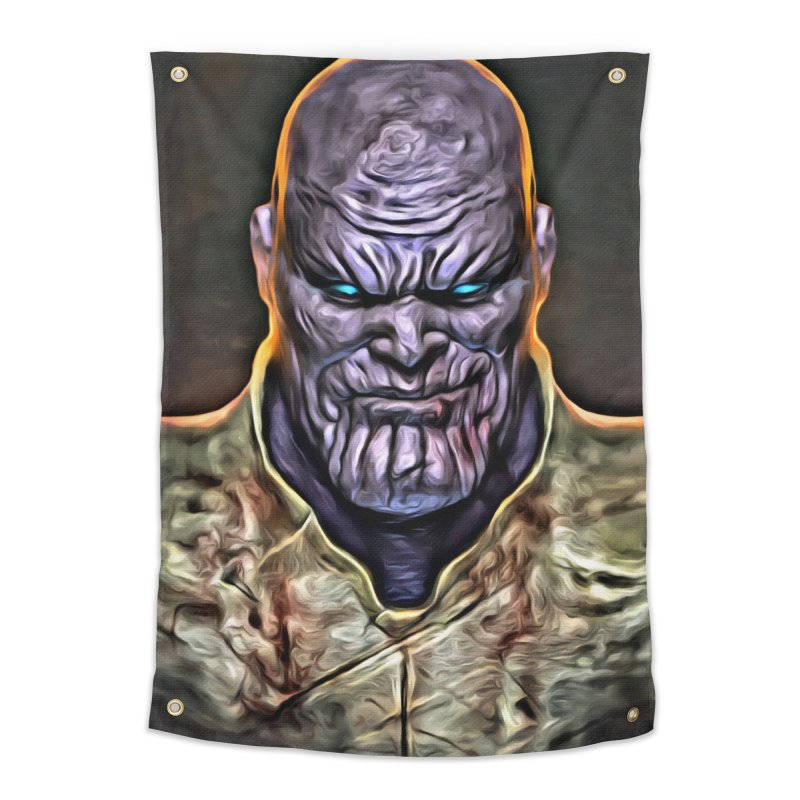 Thanos Home Tapestry by Evolution Comics INC