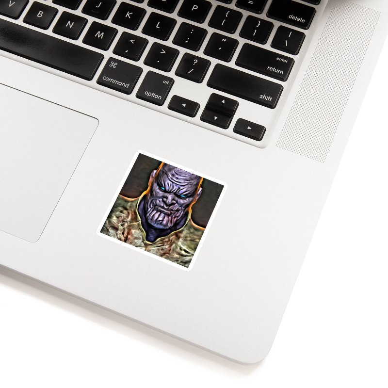 Thanos Accessories Sticker by Evolution Comics INC