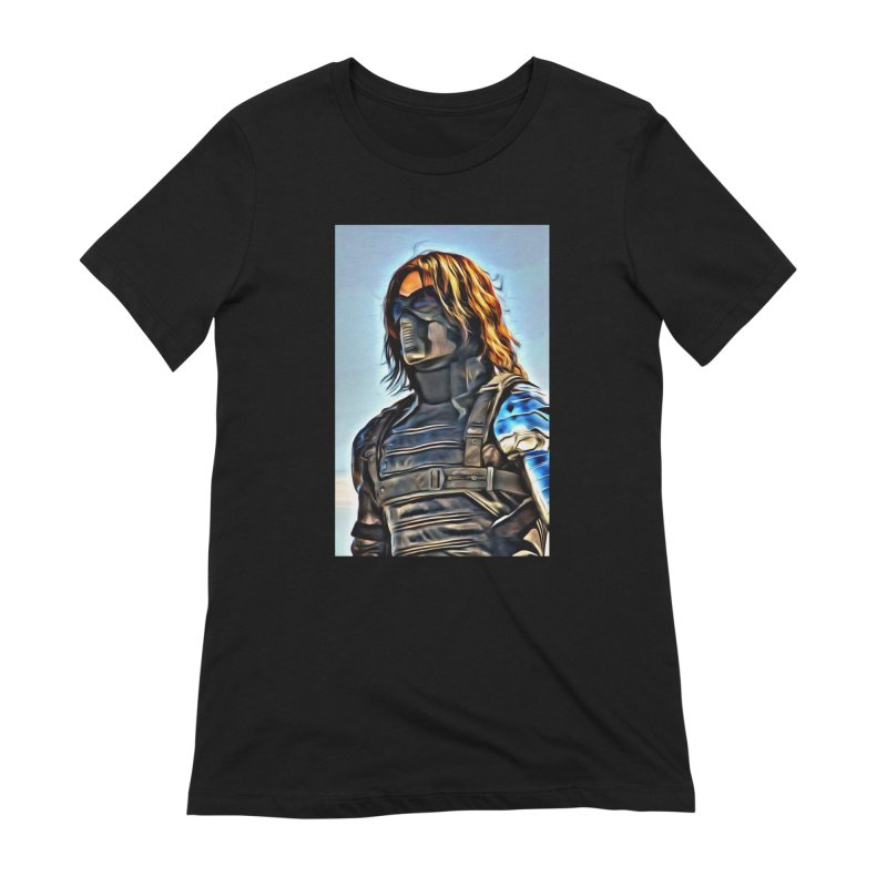 Bucky Barns - Winter Soldier Women's Extra Soft T-Shirt by Evolution Comics INC