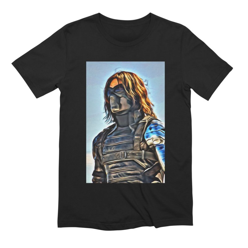 Bucky Barns - Winter Soldier Men's Extra Soft T-Shirt by Evolution Comics INC