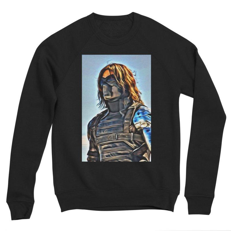 Bucky Barns - Winter Soldier Men's Sponge Fleece Sweatshirt by Evolution Comics INC