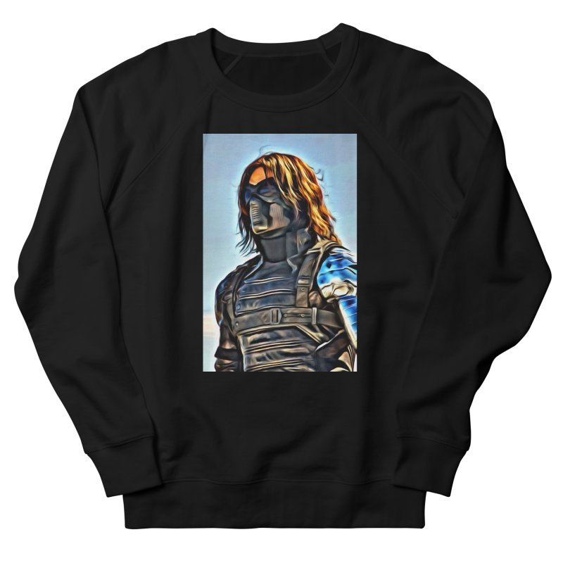 Bucky Barns - Winter Soldier Men's Sweatshirt by Evolution Comics INC