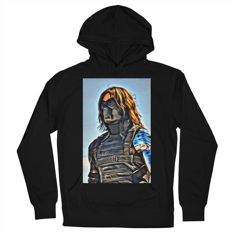 Bucky Barns - Winter Soldier Men's French Terry Pullover Hoody by Evolution Comics INC