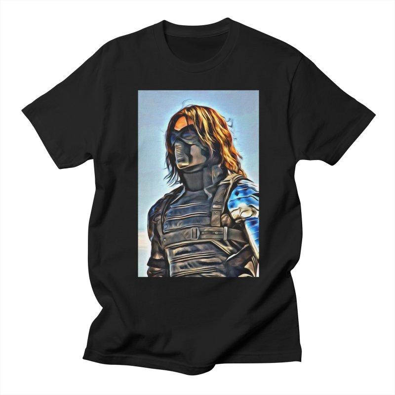 Bucky Barns - Winter Soldier Women's Regular Unisex T-Shirt by Evolution Comics INC