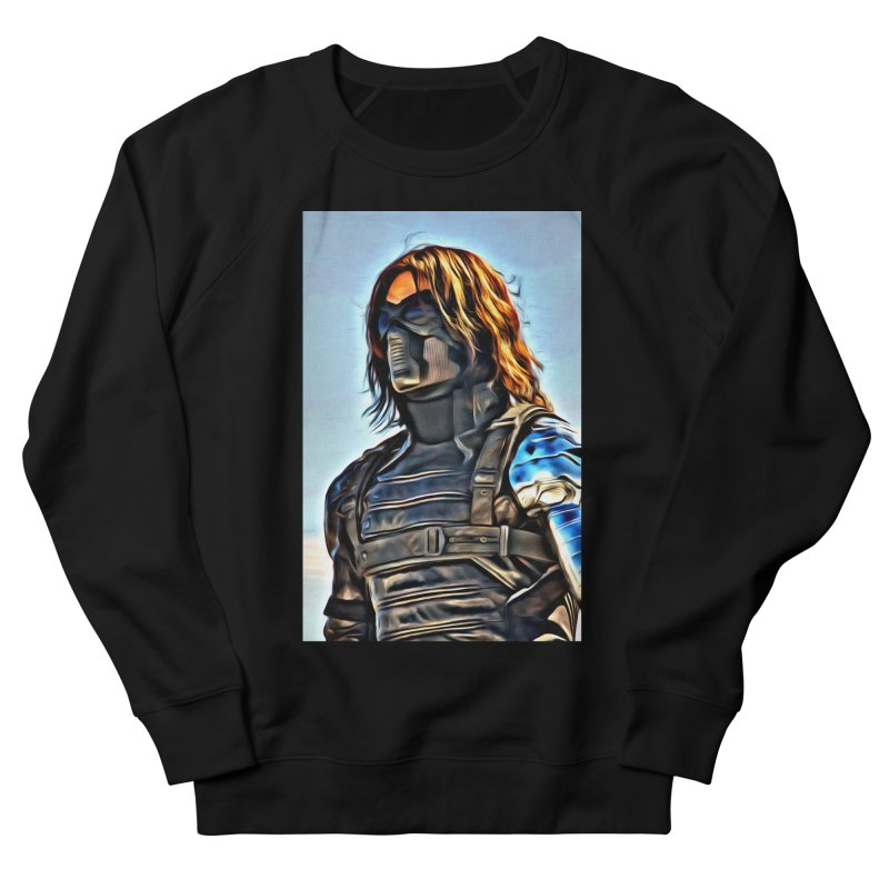 Bucky Barns - Winter Soldier Women's French Terry Sweatshirt by Evolution Comics INC