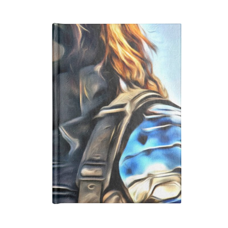 Bucky Barns - Winter Soldier Accessories Blank Journal Notebook by Evolution Comics INC