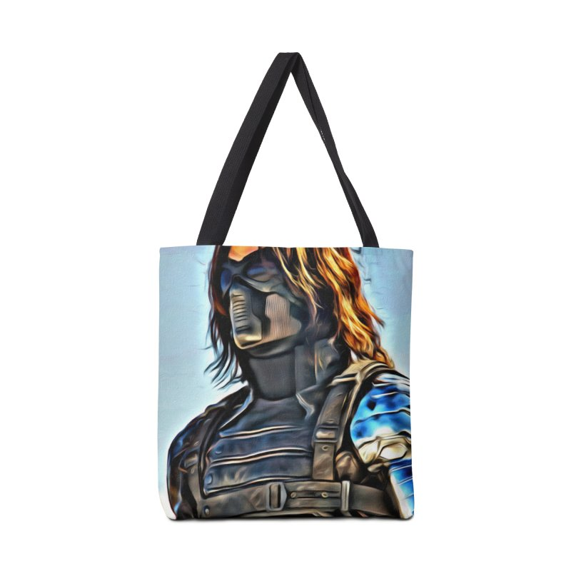 Bucky Barns - Winter Soldier Accessories Tote Bag Bag by Evolution Comics INC