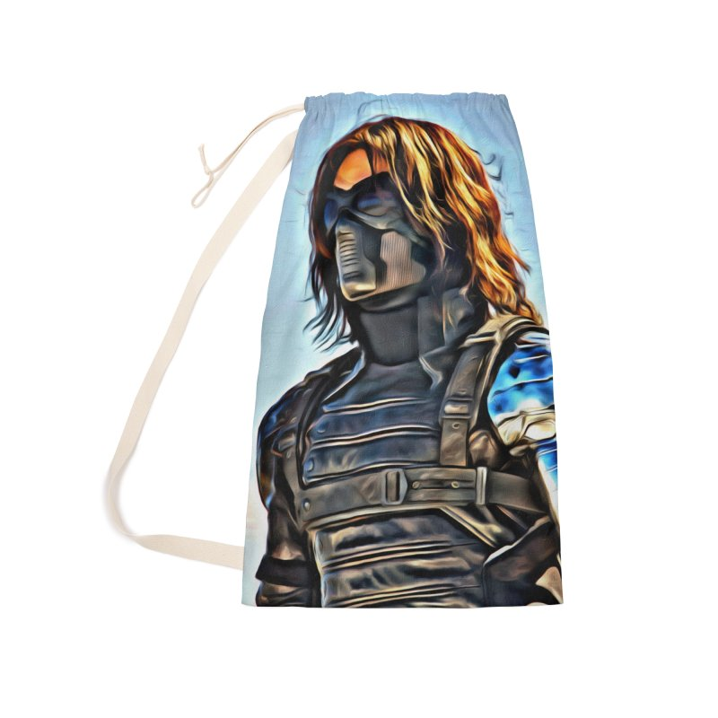 Bucky Barns - Winter Soldier Accessories Laundry Bag Bag by Evolution Comics INC