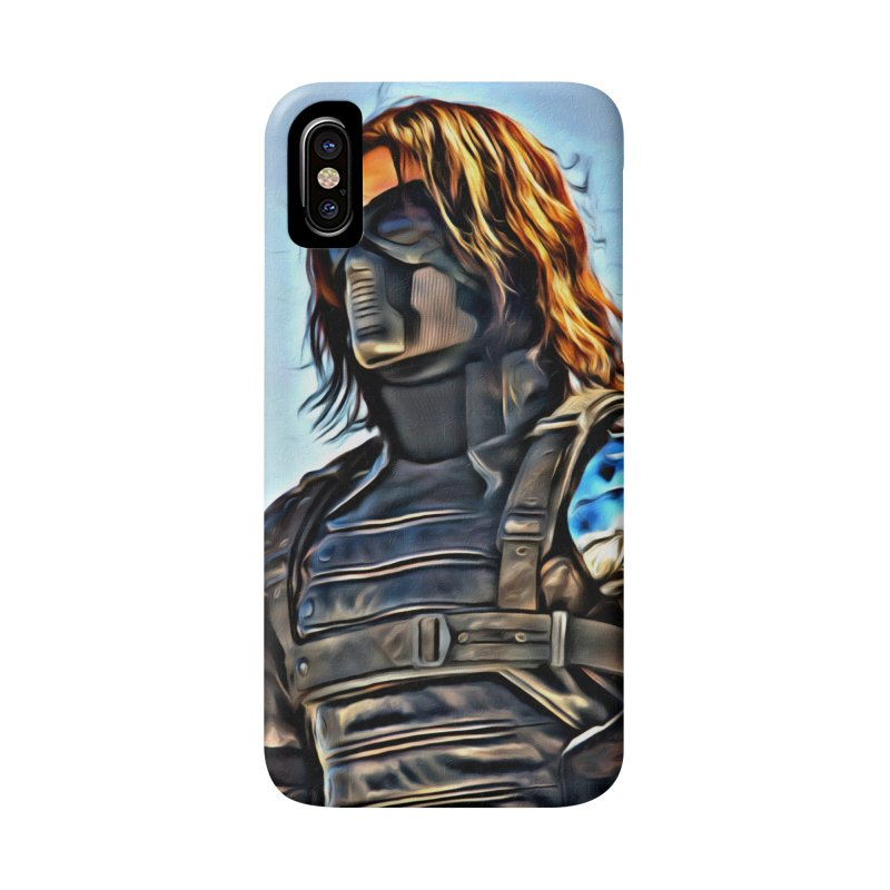 Bucky Barns - Winter Soldier Accessories Phone Case by Evolution Comics INC